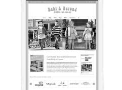 Baby & Beyond Childrenswear website