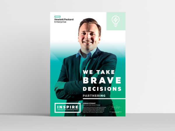 Hewlett Packard Enterprise Inspire poster 1