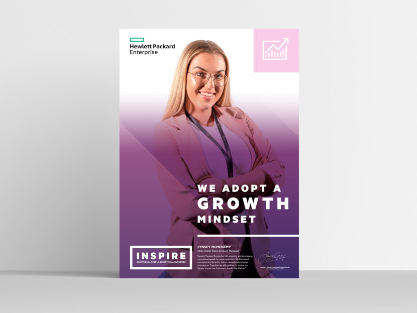 Hewlett Packard Enterprise Inspire poster 2