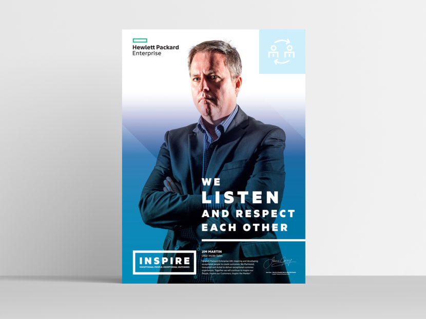 Hewlett Packard Enterprise Inspire poster 3