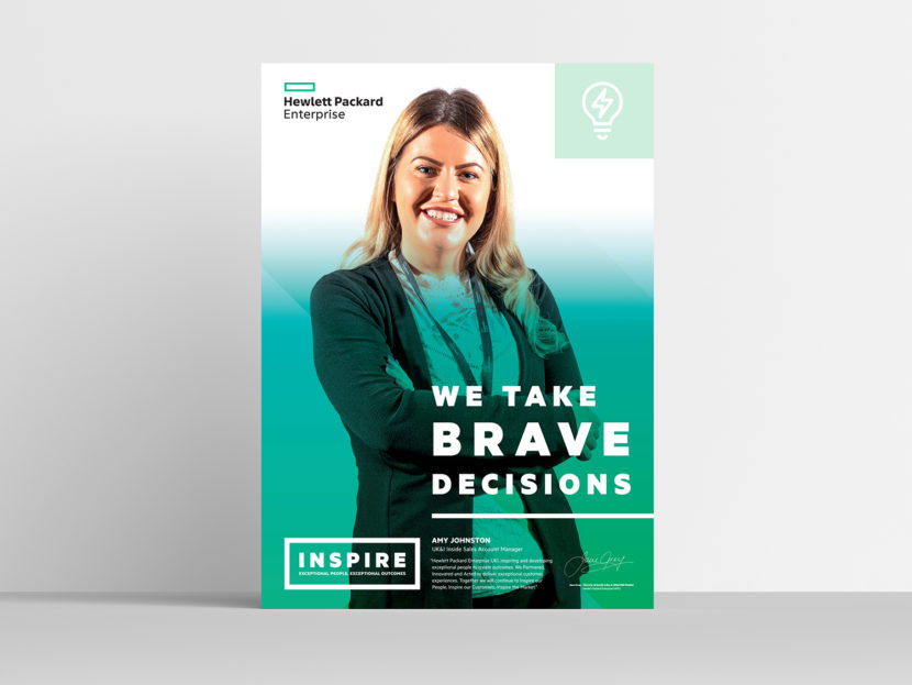 Hewlett Packard Enterprise Inspire poster 4